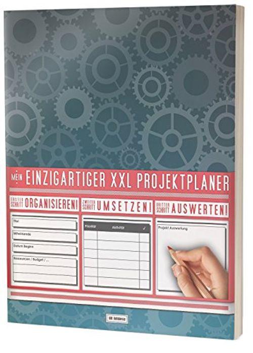 photo Wallpaper of XXL Notebooks-Mein Projektplaner / Planen, Umsetzen, Auswerten! / 122 Seiten, Register,-
