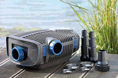 photo Wallpaper of Oase-Oase AquaMax Eco Premium 16000 Filter  Und Bachlaufpumpe-Schwarz