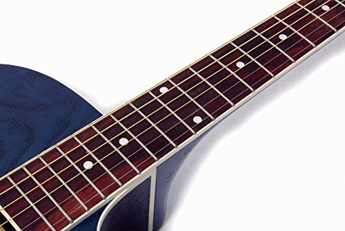 """photo Wallpaper of Lindo Gitarren-Lindo """"Willow"""" Elektro Akustische Gitarre Mit Vorverstärker/digitalem Tuner/XLR Ausgang/Klinkenbuchse Und Gitarrentasche-"""