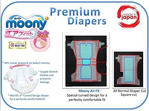 photo Wallpaper of Moony-Pañales Japoneses Moony NB (New Born)   Baby (hasta-