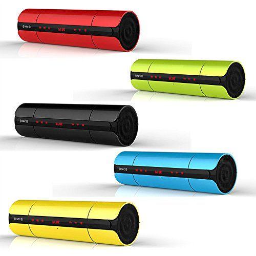 photo Wallpaper of first2savvv-First2savvv Grün Wireless Stereo Lautsprecher NFC Bluetooth Lautsprecher Mit Austauschbaren Lithium Polymer Akku,-mit blau Mini-LED-Lampe