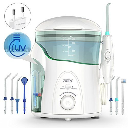 photo Wallpaper of LOFTWELL-Irrigador Dental Con UV Esterilizador, THZY Water Flosser Irrigador Bucal-Blanco