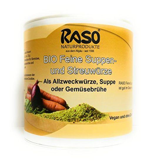 photo Wallpaper of RASO Naturprodukte-Suppe Gemüsebrühe BIO Versandkostenfrei 500g RASO Gekörnte Brühe EXTRA FEIN   BASICHES-