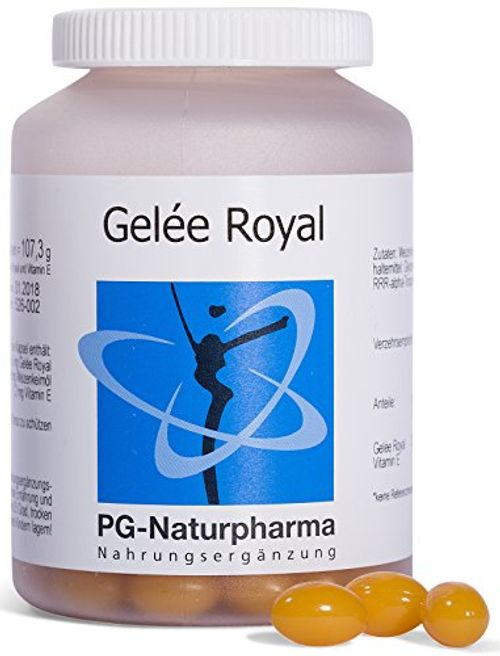photo Wallpaper of PG-Naturpharma-Jalea Real, 150 Cápsulas De Jalea Real Con Vitamina E, Hecho En Alemania-