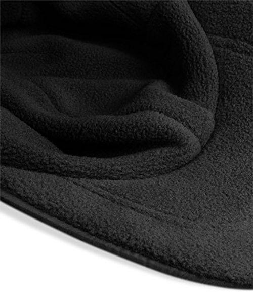 photo Wallpaper of Normani-Wintermütze Cap Verstellbar Mit Ohrenschutz Und Fleece Innenfutter? Farbe Black-Black