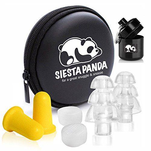 photo Wallpaper of Siesta Panda-Siesta Panda Juego De 12 Tapones Para Oídos [ 4-Claro