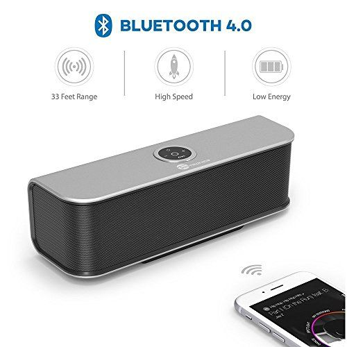 photo Wallpaper of TaoTronics-TaoTronics Bluetooth Lautsprecher Stereo Speaker Boombox 20W Treiber, Bassverstärker Mit-