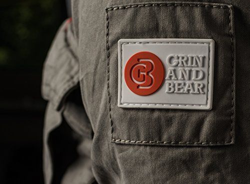 photo Wallpaper of Grin&Bear-Grin&Bear Herren Slim Fit Vintage Feldjacke Grün Größe XL AK70-Vintage Grün