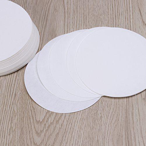 photo Wallpaper of UEETEK-UEETEK 100 Stück Qualitatives Filterpapier Mittlere Durchflussgeschwindigkeit 11cm Durchmesser-