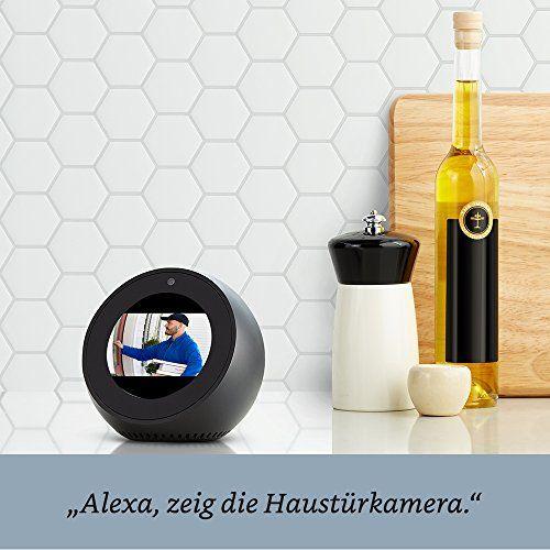photo Wallpaper of Amazon-Wir Stellen Vor: Amazon Echo Spot   Schwarz-Schwarz