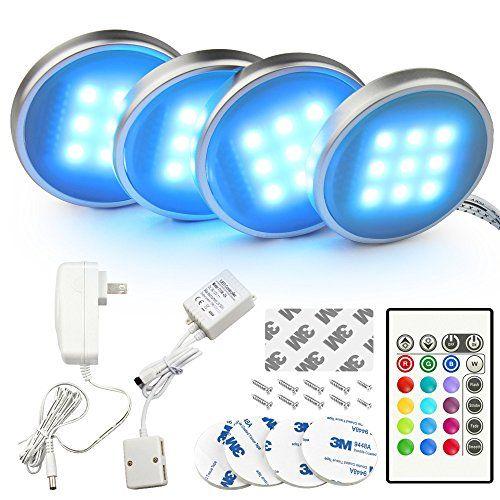 photo Wallpaper of BASON-LED Küche Unter Kabinett Beleuchtung Multi Farbe Veränderbar LED Akzentbeleuchtung Für-Fernsteuerung Multi Farbe