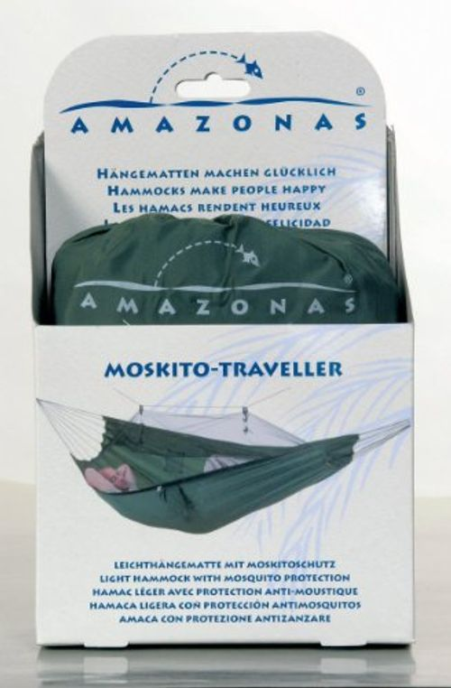 photo Wallpaper of Amazonas-AMAZONAS Hängematte Ultra Light Moskito Traveller 220cm X 140cm Bis-schwarz