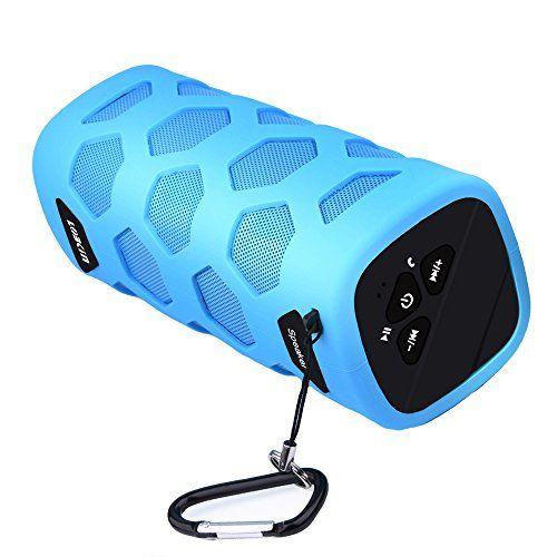 photo Wallpaper of ECANDY-LOBKIN Wasserdichter Bluetooth Lautsprecher   IP65 Zertifiziert  -Blau