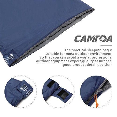 photo Wallpaper of CAMTOA-CAMTOA Ultraleicht, Klein, Warm Schlafsack Hüttenschlafsack Schlafsack Inlett, Outdoor Wasserdicht-Blau