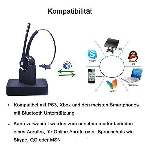 photo Wallpaper of YAMAY-YAMAY® Bluetooth Kopfhörer,Drahtloses Bluetooth Kopfhörer Headset Über Kopf Mit Ladestation, Mikrofon,Freisprecheinrichtung,und Rauschunterdrückung-M9a mit Ladestation