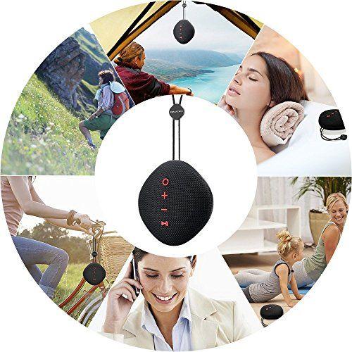 photo Wallpaper of QWOO-Bluetooth Lautsprecher, QWOO Mobiler Bluetooth 4.2 Sport Tragbar Lautsprecher 18 St-
