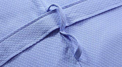 photo Wallpaper of Otomoll-Otomoll Home Hotel Bademantel Nachthemd Baumwolle Bademantel Dünne Männer Und Frauen Liebhaber,-The blue