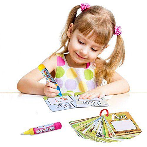 photo Wallpaper of BBLIKE-Wasser Zeichnung Doodle Enthüllung ,26 Englische Buchstaben Mit 2 Wasser Stifte,Tolles Geschenk Für Kinders-