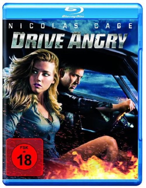 photo Wallpaper of Warner Bros.-Drive Angry [Blu Ray]-