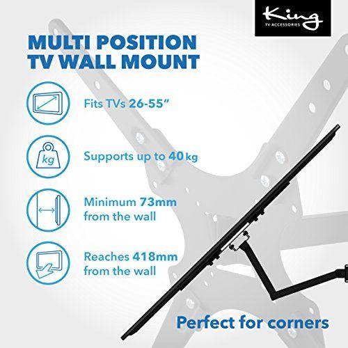 photo Wallpaper of King-Voll Dreh  Und Kippbare Fernseher Wandhalterung Für Bis Zu 32