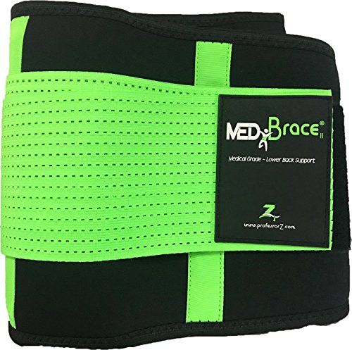 photo Wallpaper of ProfessorZ-Cinturón Lumbar Médico Ortopédico MEDiBrace Para Prevenir Lesiones Al Hacer-VERDE