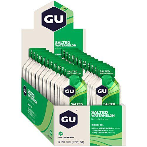 photo Wallpaper of GU-GU Energy Gel, Salted Watermelon (salzige Wassermelone), Box Mit 24 X 32 G-