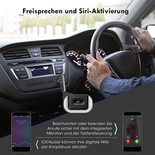 photo Wallpaper of Mpow-Bluetooth Empfänger Mpow,[EIN/AUS Taste,Neues Design] Auto Audio Tragbare Kabellose Bluetooth Receiver Adapter, Freisprecheinrichtung-Silber