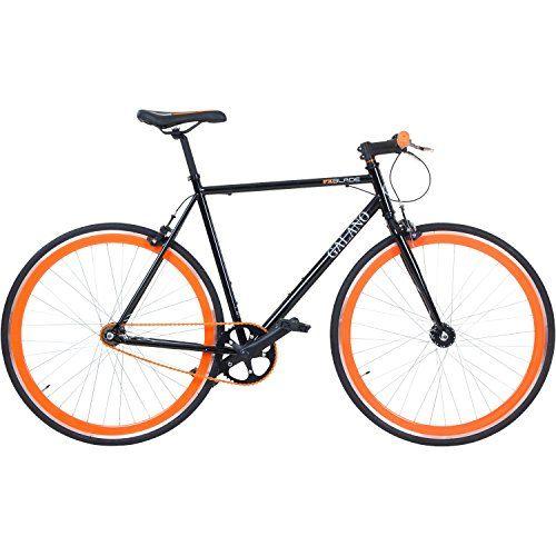 photo Wallpaper of Galano-700C 28 Zoll Fixie Singlespeed Bike Galano Blade 5 Farben Zur-Schwarz / Orange