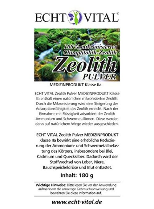 photo Wallpaper of -ECHT VITAL ZEOLITH   1 Dose Mit 180 G-