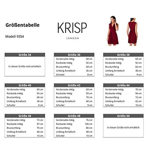 photo Wallpaper of KRISP-9354 TEA 20: Kleid Geknotet Gerafft (Petrol, Gr.48)-Petrol (9354)