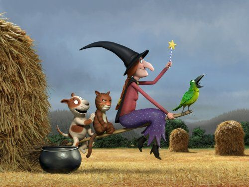 photo Wallpaper of VARIOUS-Für Hund Und Katz Ist Auch Noch Platz (Room On The Broom)-