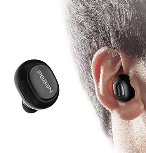 photo Wallpaper of Vobon-Vobon Bluetooth Kopfhörer Kabellose Mini In Ear Sport Ohrhörer Wireless-schwarz