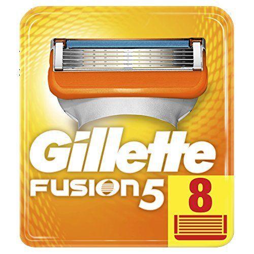 photo Wallpaper of Gillette-Gillette Fusion   Cuchillas De Recambio Para Maquinilla De-Aluminio, Negro
