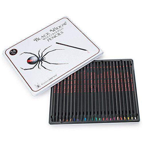 photo Wallpaper of Black Widow Collection-Black Widow ® Farbige Bleistifte Für Erwachsene, Die Best Farbe Bleistift Set Für-