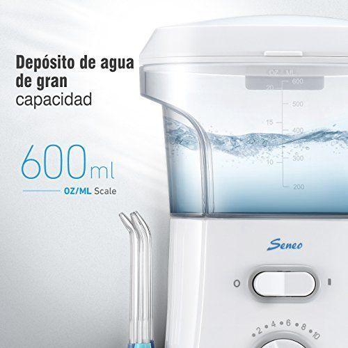 photo Wallpaper of Seneo-Seneo Irrigadores Dentales Irrigador Bucal, Irrigador Oral, Irrigador Dental Con 9 Cabezales,-blanco