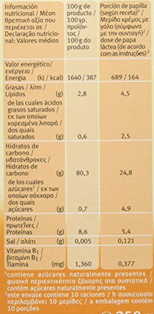 photo Wallpaper of HOLLE-Holle Papilla 3 Cereales (+6 Meses) SIN GLUTEN   Paquete-