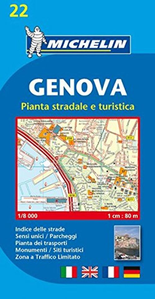 photo Wallpaper of -Michelin Genova: Stadtplan 1:8.000 (MICHELIN Stadtpläne, Band 22)-