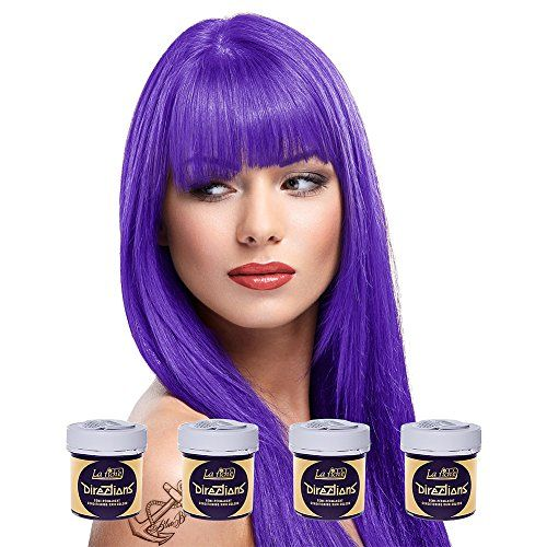 photo Wallpaper of La Riche Directions-4 X La Riche Directions Semi Perm Hair Colour Violet (ALL COLOURS Avail) 4x-Violeta