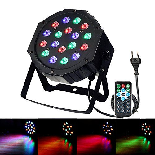 photo Wallpaper of SOLMORE-DJ Lichteffekte,SOLMORE Disco Licht 18W 18LED LED PAR Licht DJ Licht Mit-