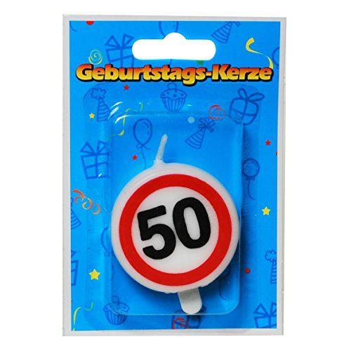 photo Wallpaper of Unbekannt-23 Tlg. Partyset 50. Geburtstag Dekoset Dekobox   Verkehrschild -