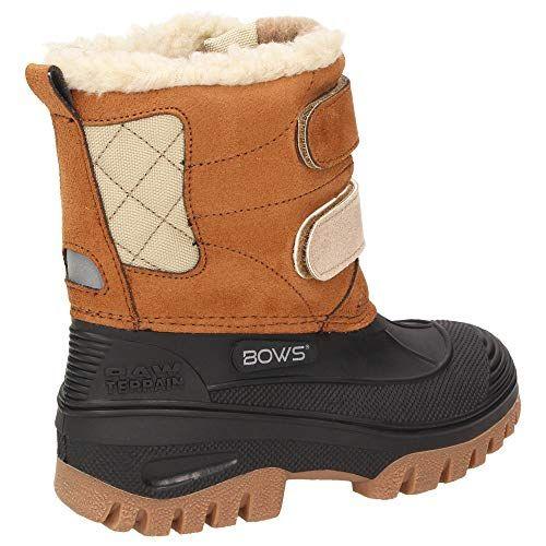 photo Wallpaper of BOWS-BOWS®  Keke  Mädchen Kinder Schnee Winter Stiefel Winterboots Schuhe Warmfutter Wasserdicht Wasserabweisend,-Camel