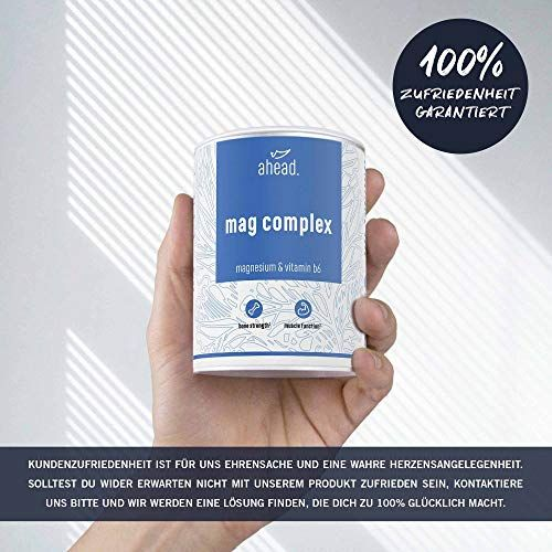 photo Wallpaper of ahead -Ahead® MAGNESIUM COMPLEX | 120 Kapseln Mit Magnesiumglycinat Und Magnesiumcitrat +-