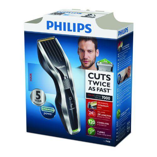 photo Wallpaper of Philips-Philips HAIRCLIPPER Series 7000 HC7450/80 Recargable Cortadora De Pelo Y Maquinilla   Afeitadora-