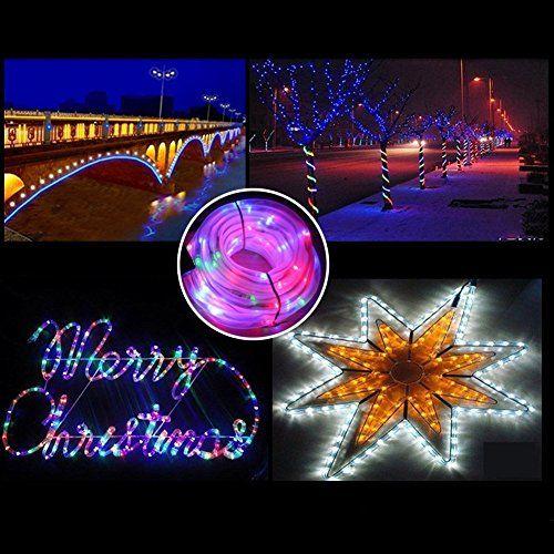 photo Wallpaper of MEIKEE-MEIKEE 120 LED Lichterschlauch 12M RGB 8 Modi Mit Memory-