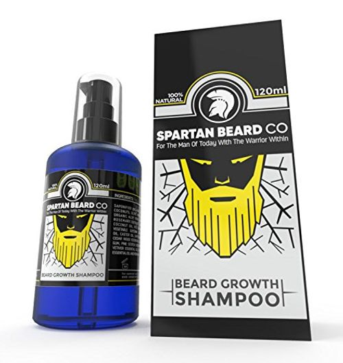 photo Wallpaper of Spartan Beard Co-Premium Lujo Barba Wash Champú De Barba, De Spartan Barba Co. Hecho De 99%-