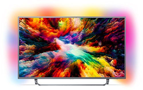 photo Wallpaper of Philips-Philips 43PUS7303/12 108 Cm (43 Zoll) LED Fernseher (Ambilight, 4K-Silber