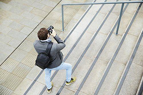 photo Wallpaper of Canon-Canon SL100 Sling Bag (Bis Zu 3 Objektive, Ein Tablet Und Weiteres-Schwarz