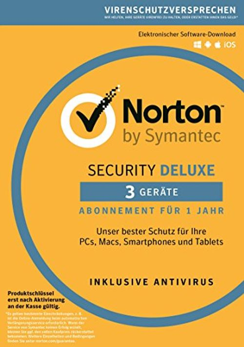 photo Wallpaper of Symantec-Norton Security Deluxe 2018 | 3 Geräte | 1 Jahr | PC/Mac/iOS/Android |-