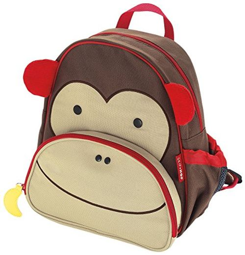 photo Wallpaper of Skip Hop-Skip Hop Zoo Pack Monkey   Mochila-Marrón