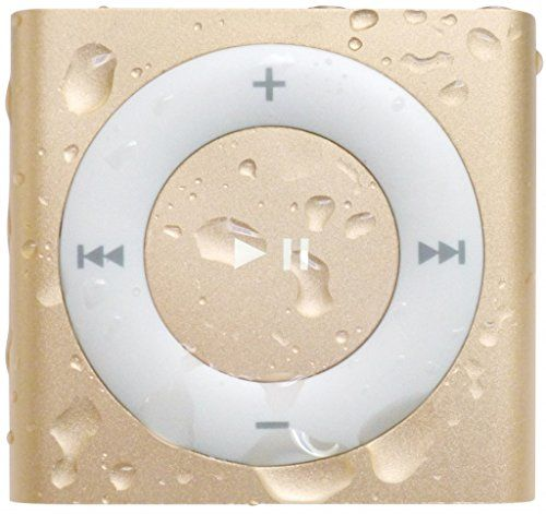 photo Wallpaper of HydroHarmony-Underwater Audio  Wasserdichter IPod Shuffle (Gold), HydroActive Kopfhörer Bündel-Gold